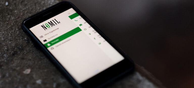Nomil sin mobil-app: Snart tilgjengeleg for heile Kinn
