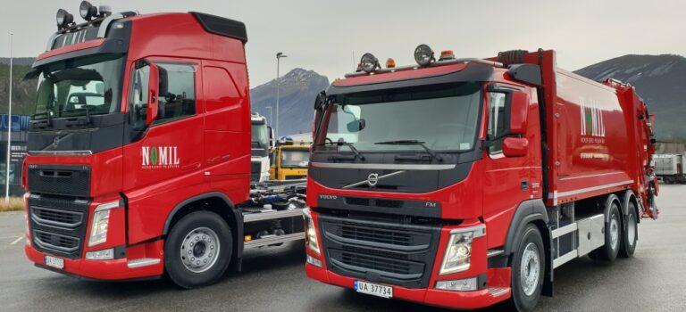 Ledig stilling som sjåfør/renovatør i Nordfjord