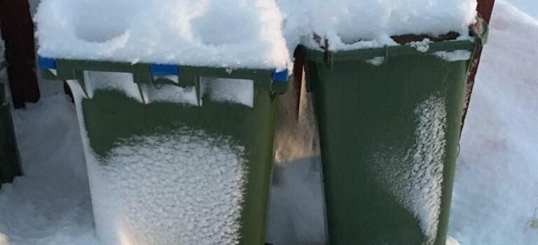 Vinteren er her, hjelp våre renovatørar!