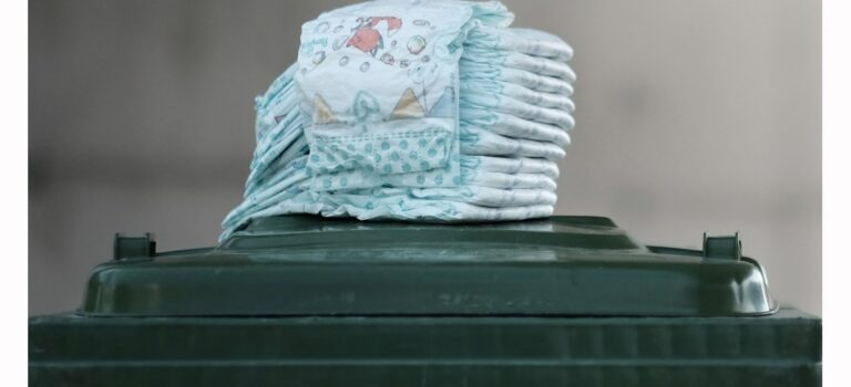 Barnebleier sorterast som restavfall